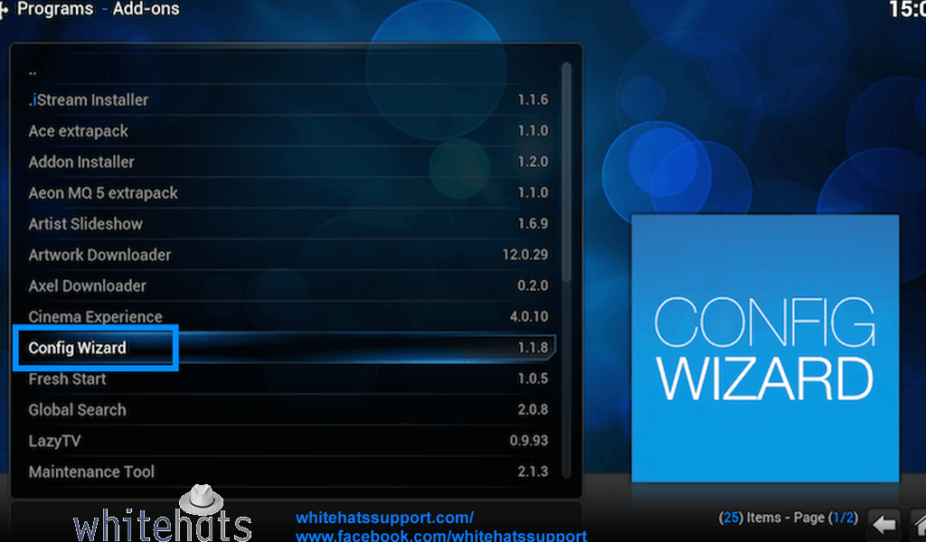 Config Wizar or Addon Installer-Smart TV Support-WhitehatsSupport