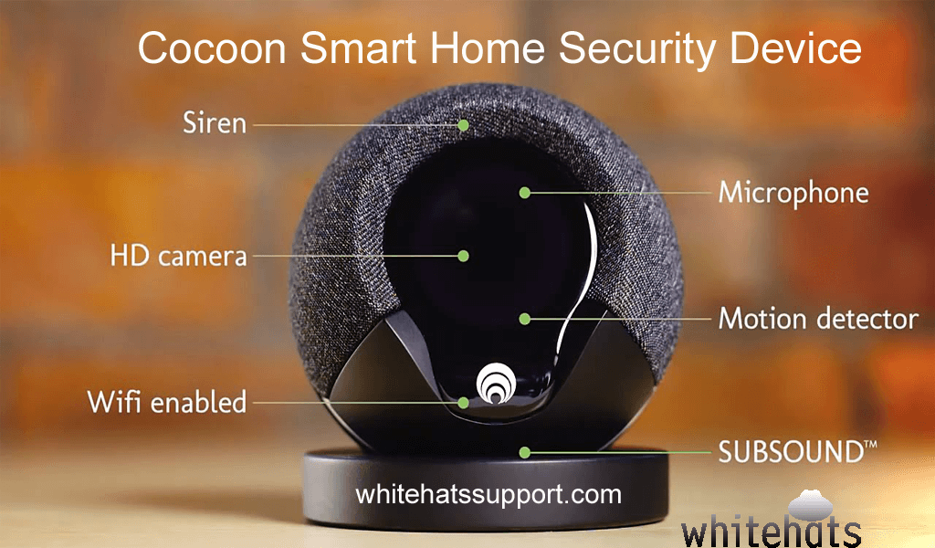 Cocoon smart home security device-home security surveillance system and solutions -cctv camera installation dubai-WhitehatsSupport