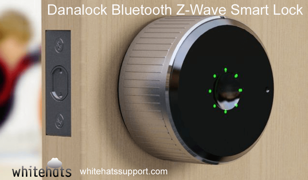 Danalock Bluetooth Z-Wave Smart Lock-home security surveillance system and solutions -cctv camera installation dubai-WhitehatsSupport