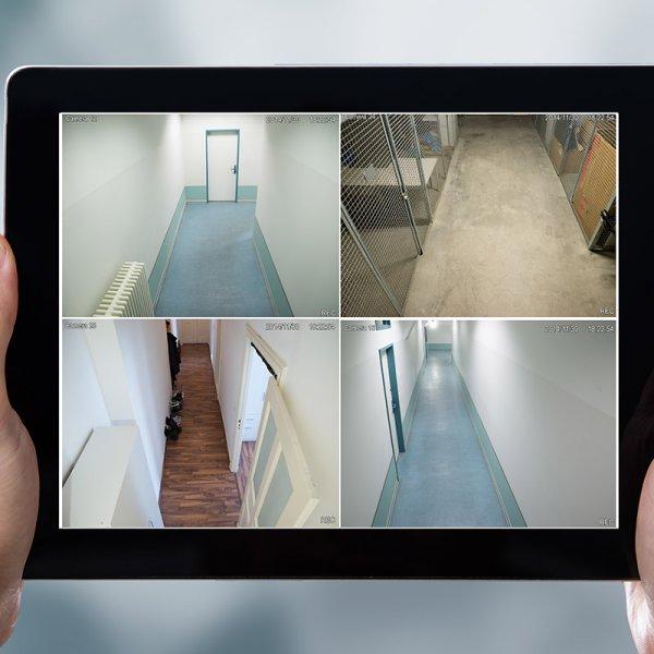 4 Digital Cameras Surveillance Package Dubai