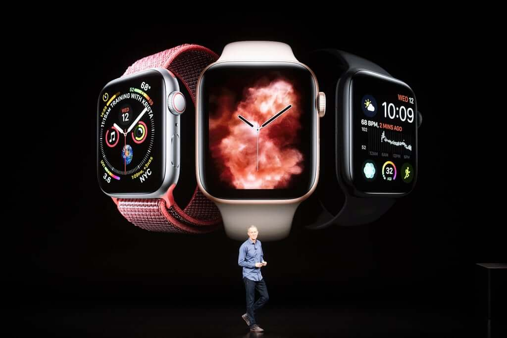 Apple Watch series 4 Apple event 2018